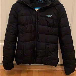 Hollister puffy jacket
